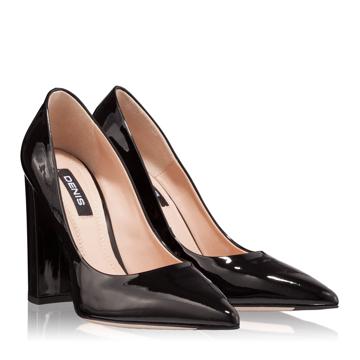 Pantofi Eleganti Dama 3492 Vernice Nero