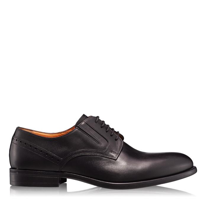 Imagine Pantofi Eleganti Barbati 6807 Vitello Negru
