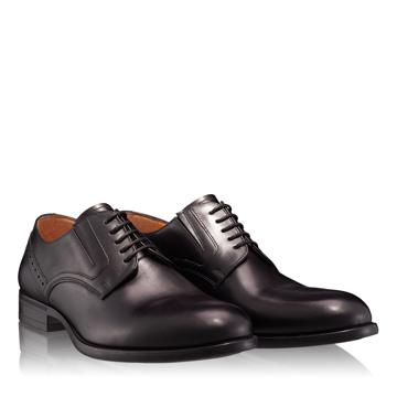 Pantofi Eleganti Barbati 6807 Vitello Negru