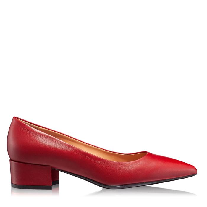 Imagine Pantofi Eleganti Dama 4767 Vitello Rosso
