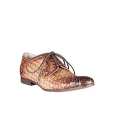 Pantofi Eleganti Barbati 2721 Intreccio Taupe