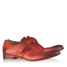 Pantofi Eleganti Barbati 2775 Vitello Rosso
