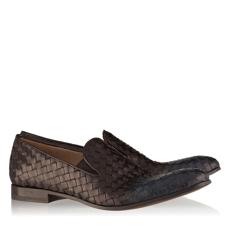 Pantofi Eleganti Barbati 2913 Intreccio Nero