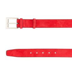 Men Belt 83 Crosta Rosso