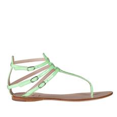 Sandale Dama 3260 Vernice Verde