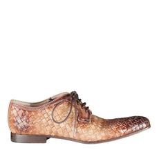 Imagine Pantofi Eleganti Barbati 2721 Intreccio Taupe