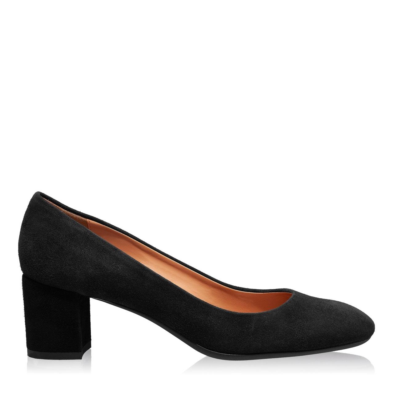 Imagine Pantofi Eleganti Dama 4715 Camoscio Negru