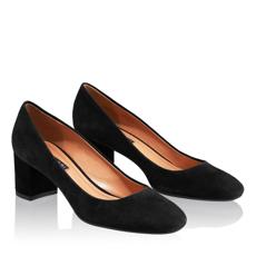Pantofi Eleganti Dama 4715 Camoscio Negru