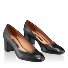 Pantofi Eleganti Dama 4715 Vitello Negru