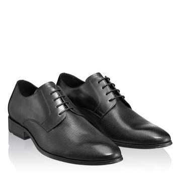 Pantofi Eleganti Barbati 5007 Vitello Negru