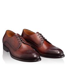 Pantofi Eleganti Barbati 6626 Vitello Maro