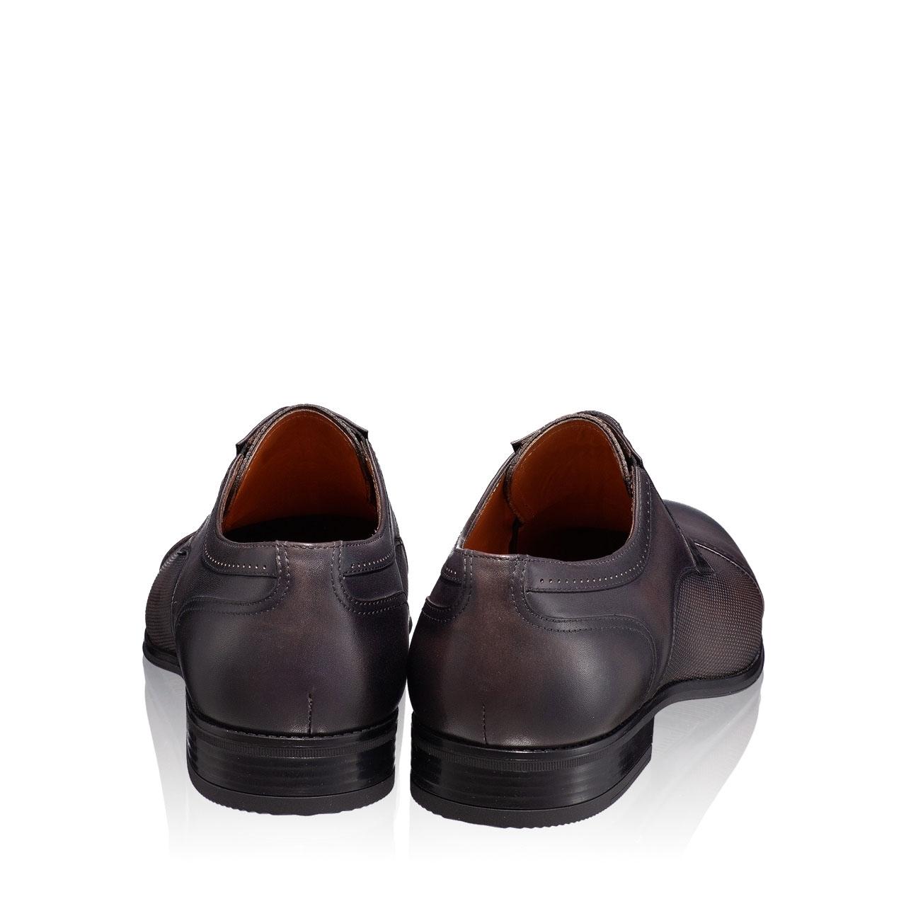 Imagine Pantofi Eleganti Barbati 6858 Vitello Gri