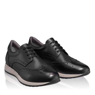 Pantofi Casual Barbati 6880 Vitello Negru
