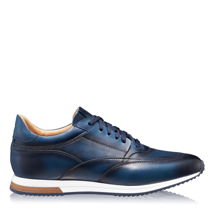 Pantofi Casual Barbati 6885 Vitello Blue