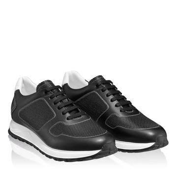 Pantofi Sport Barbati 6886 Vitello Negru