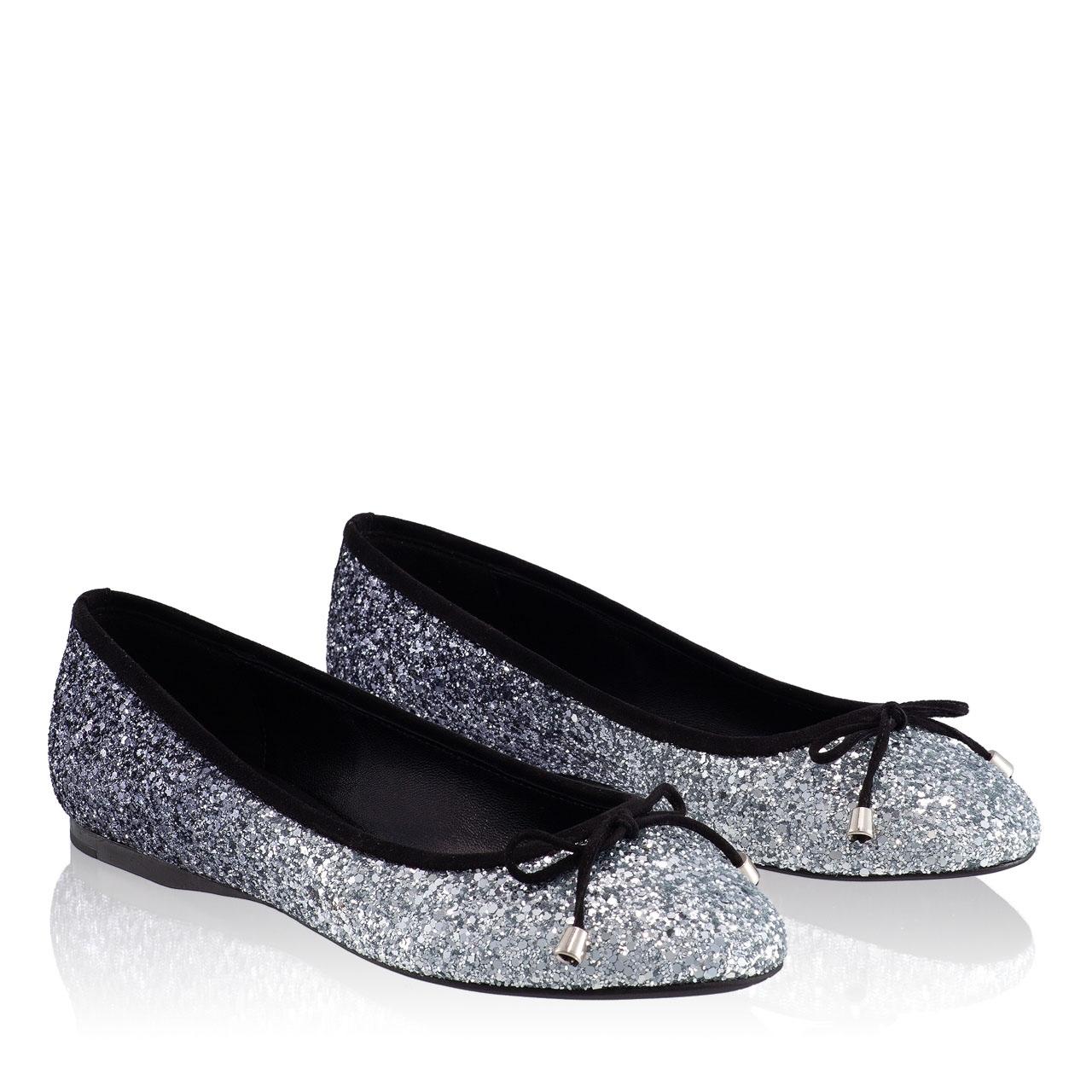 Balerini Dama 5510 Glitter Argento