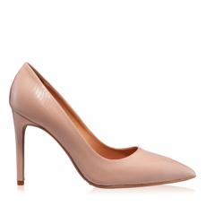 Imagine Pantofi Eleganti Dama 4332 Lac Stamp Nude
