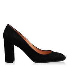 Imagine Pantofi Eleganti Dama 4572 Camoscio Negru