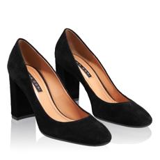 Pantofi Eleganti Dama 4572 Camoscio Negru
