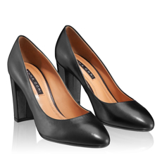 Pantofi Eleganti Dama 4765 Vitello Negru