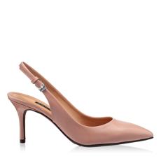 Imagine Pantofi Decupati Dama 5728 Vernice Fard