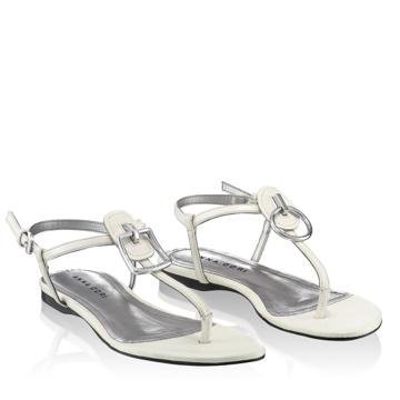 Sandale Dama 4575 Lac Saf Bianco