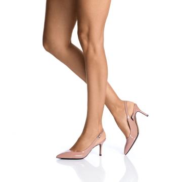Pantofi Decupati Dama 5728 Vernice Fard