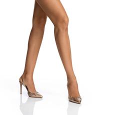 Pantofi Decupati Dama 5512 Vitello Oro