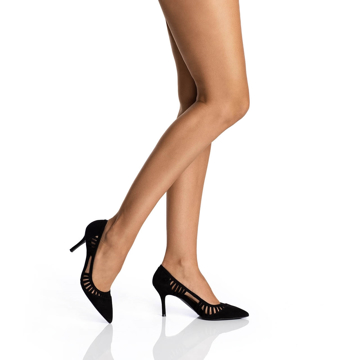 Pantofi Dama Eleganti 5515 Camoscio Negru
