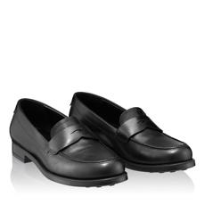 Pantofi Casual Dama 4727 Vitello Negru