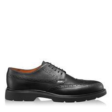 Imagine Pantofi Casual Barbati 6921 Vitello Negru