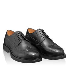 Pantofi Casual Barbati 6921 Vitello Negru