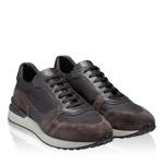Imagine Pantofi sport 6901 Crosta Tdm.+Tesut Negru