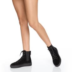 Pantofi Sport Dama 6958 Crosta Negru