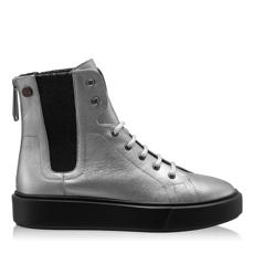 Imagine Pantofi Sport Dama 6958 Lamin Titanium