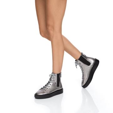 Pantofi Sport Dama 6958 Lamin Titanium