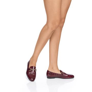 Pantofi casual dama 5666 Cocco Bordo