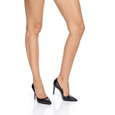 Pantofi eleganti dama 4332 Croco Negru