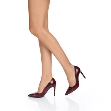 Pantofi eleganti dama 4332 Pytone Bordo