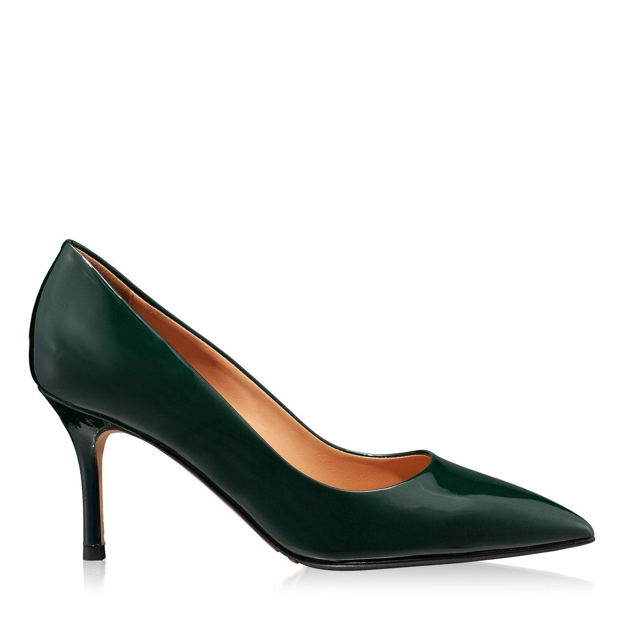 Imagine Pantofi eleganti dama 4416 Vernice Verde
