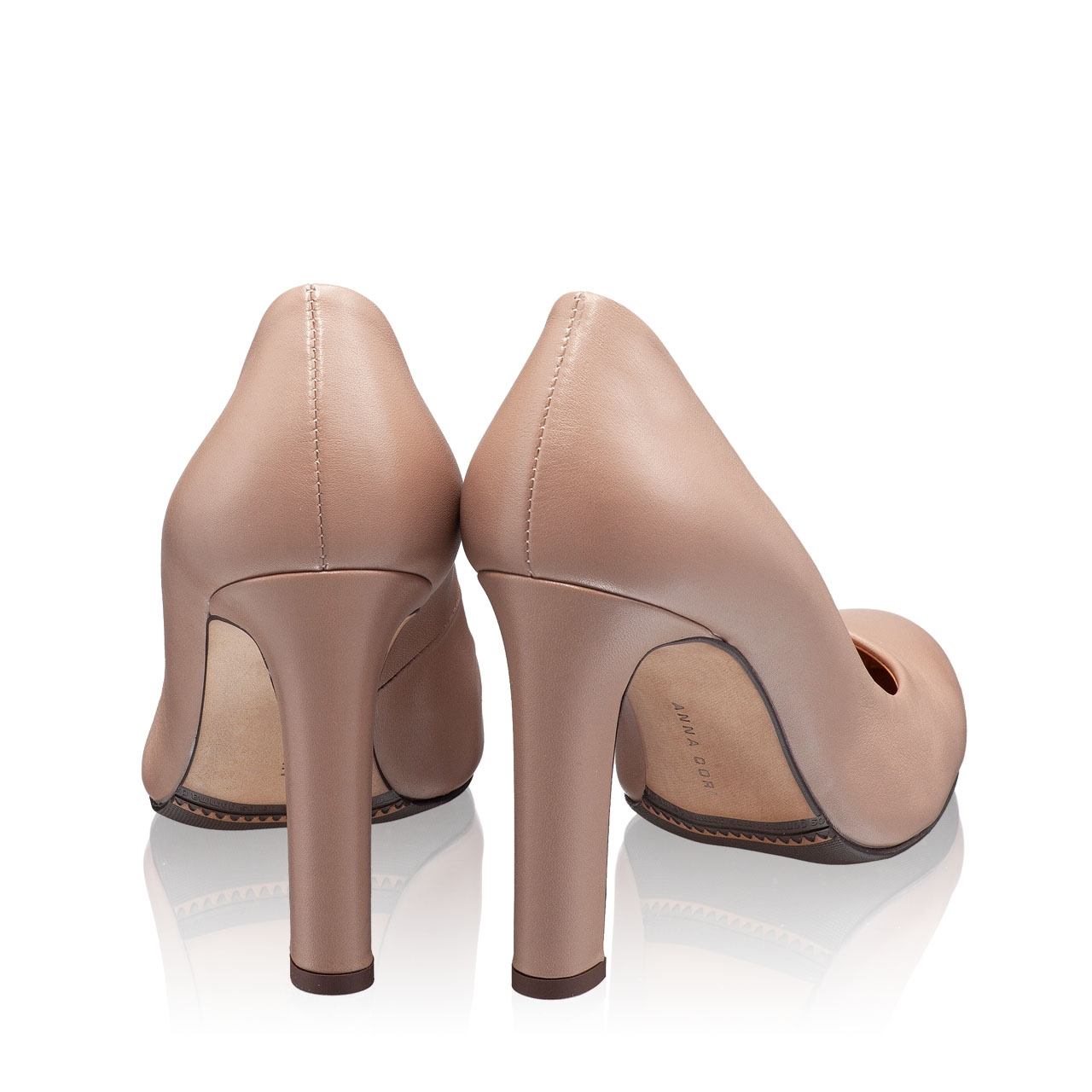 Imagine Pantofi Eleganti Dama 5587 Vitello Poudre