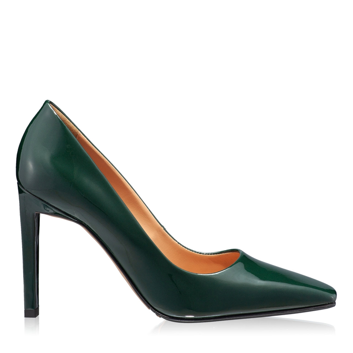 Imagine Pantofi eleganti dama 5595 Vernice Verde