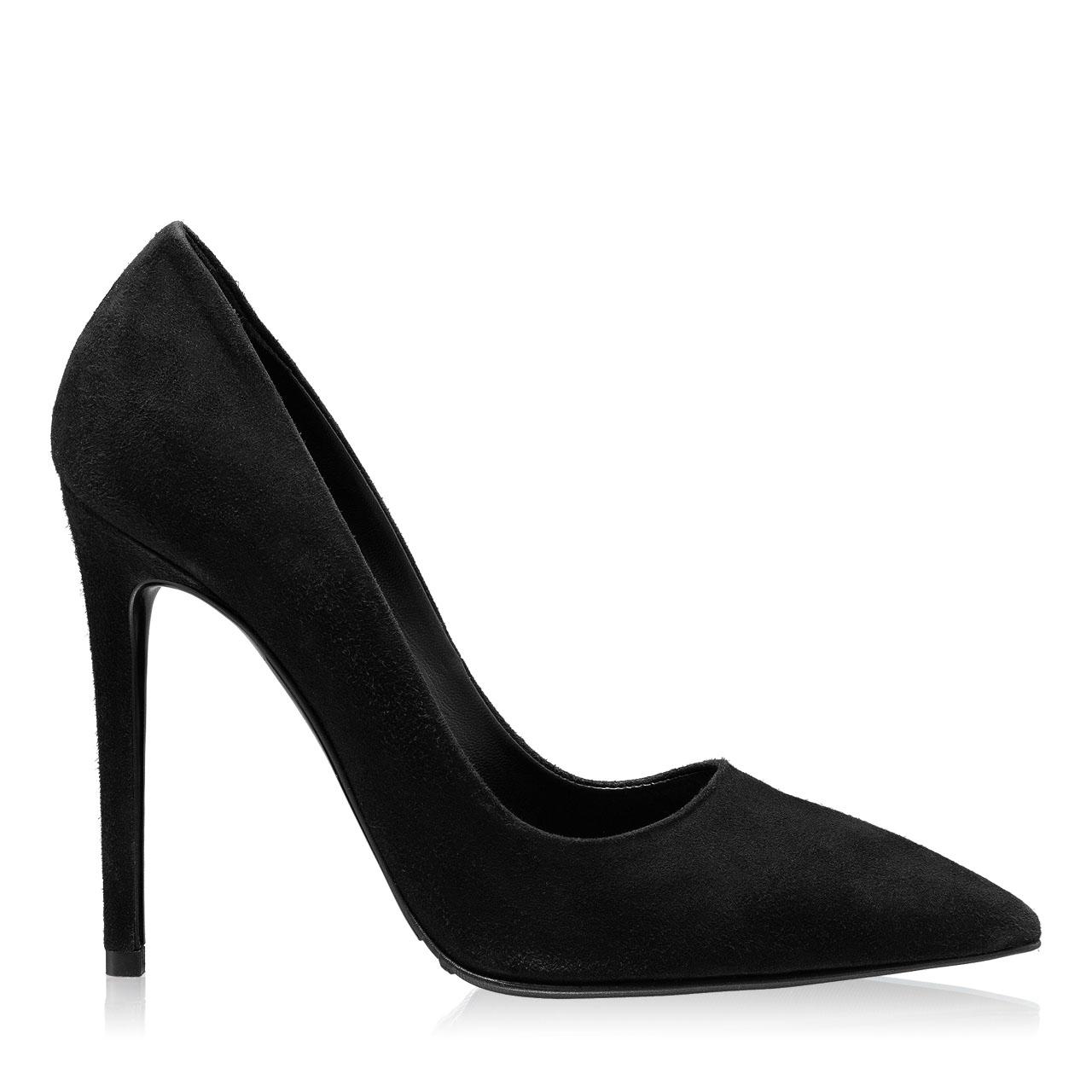 Imagine Pantofi eleganti dama 5597 Camoscio Negru