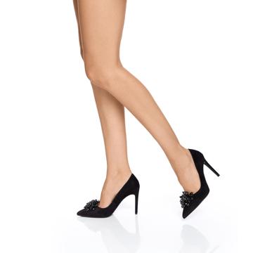Pantofi eleganti dama 5623 Camoscio Negru