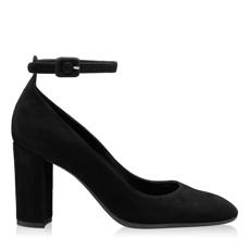 Imagine Pantofi Eleganti Dama 5633 Camoscio Negru