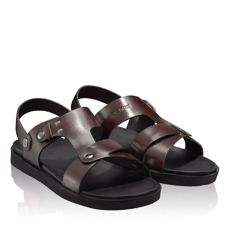 Sandale barbati 6870 Vitello Maro