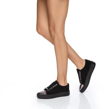 Pantofi sport Dama 6962 Crosta Negru