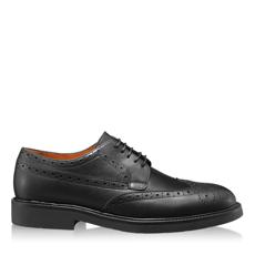 Imagine Pantofi Casual Barbati 6909 Vitello Negru