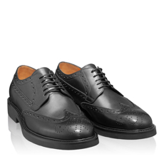 Pantofi Casual Barbati 6909 Vitello Negru