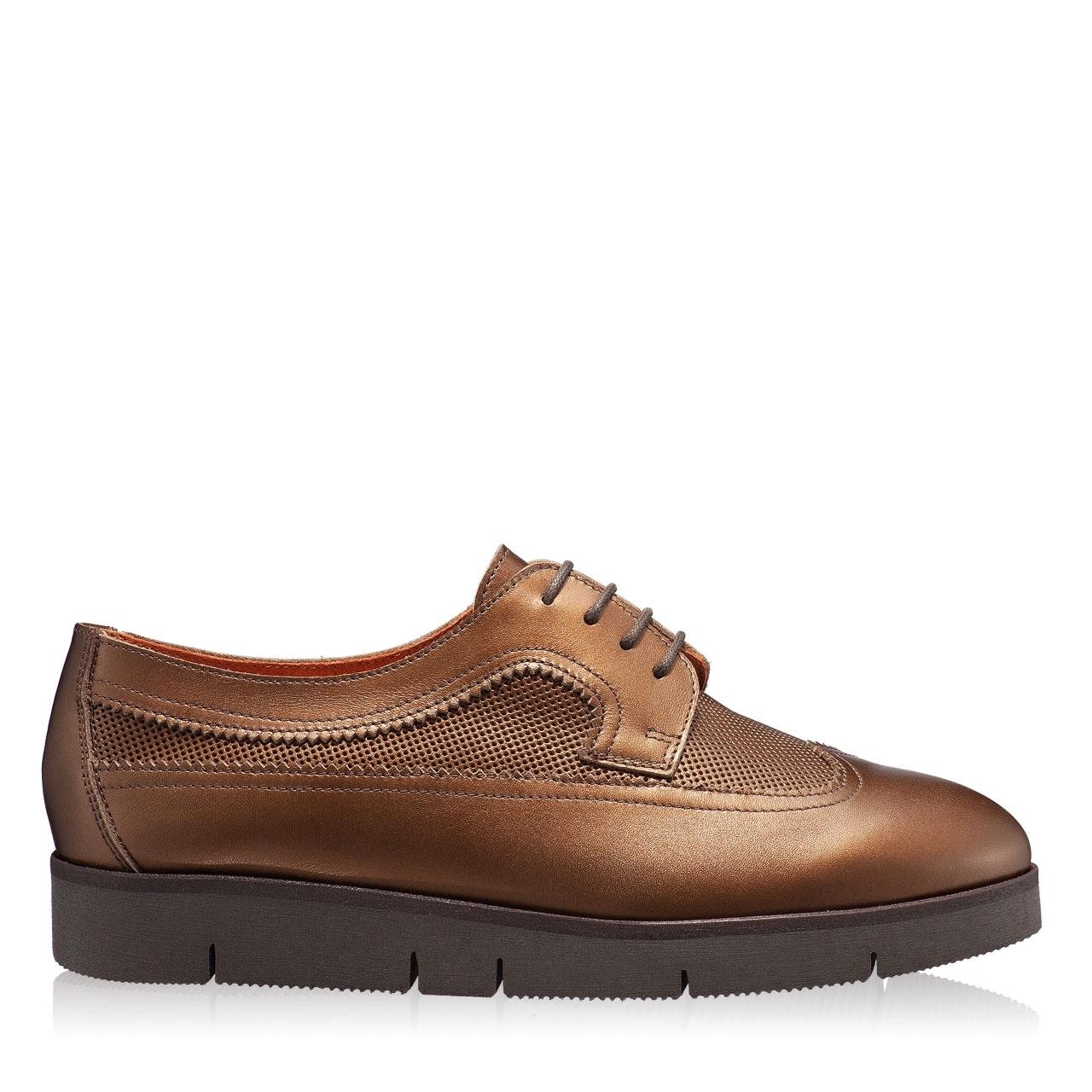 Imagine Pantofi Casual Dama 4187 Vit Foro Castagna